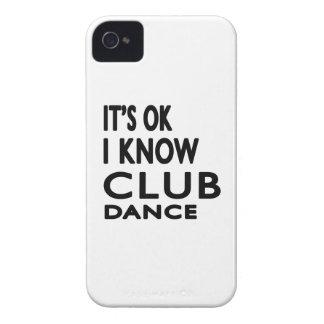 Il est correct je savent la danse de club étui iPhone 4