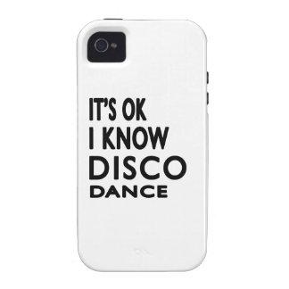 Il est correct je savent la danse de disco coques Case-Mate iPhone 4