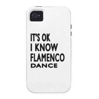Il est correct je savent la danse de flamenco étui iPhone 4