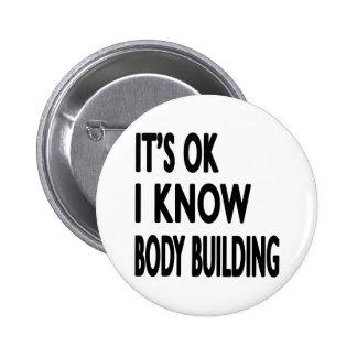 Il est CORRECT je savent la danse de musculation Badges Avec Agrafe