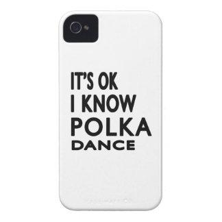 Il est CORRECT je savent la danse de polka Coque iPhone 4 Case-Mate