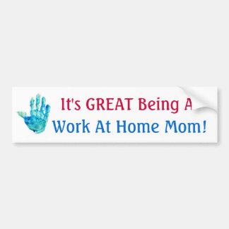 Il est GRAND être une maman de travail à la maison Adhésifs Pour Voiture