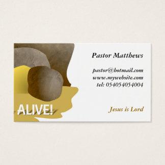 Il est vivant ! cartes de visite