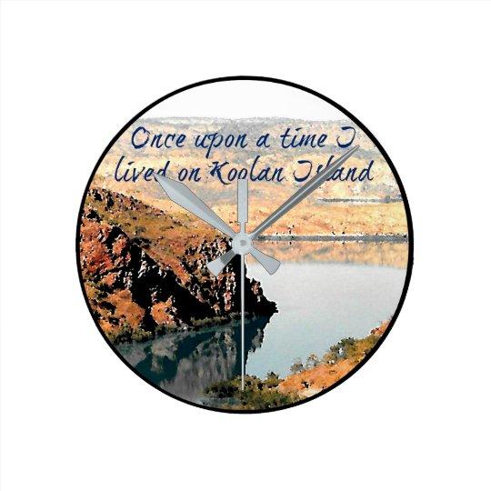 Il était une fois j'ai vécu sur l'horloge d'île de horloge ronde