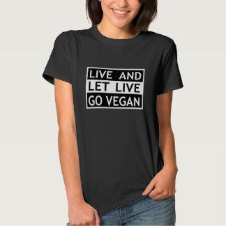 Il faut bien que tout le monde vive - vont le t-shirt