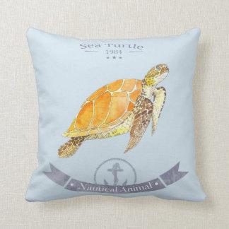 Il garnit de coussins tartaruga-marinha   Sea
