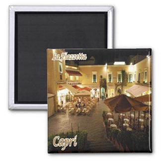 IL - l'Italie - le Capri - le petit carré célèbre Magnet Carré