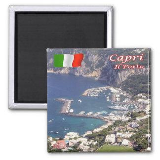 IL - l'Italie - le Capri - le port Magnet Carré