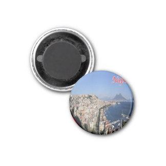 IL - l'Italie - Naples - côte de panorama Aimants