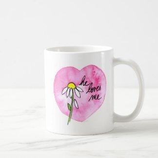 """""""Il m'aime"""" tasse"""