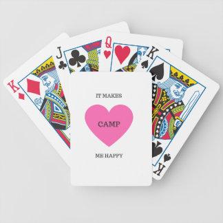 Il me fait le camp heureux cartes à jouer