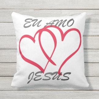 Il me garnit de coussins aime Jésus