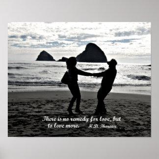 Il n'y a aucun remède pour l'amour mais pour aimer affiche
