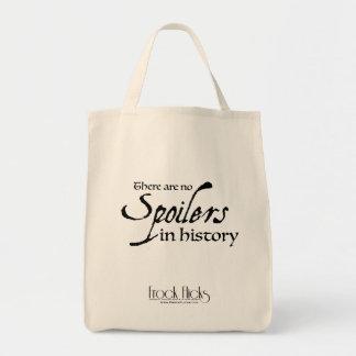 Il n'y a aucun spoiler dans l'histoire - épicerie sacs de toile
