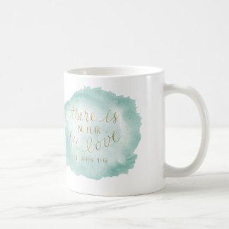 Il n'y a aucune crainte dans l'amour mug