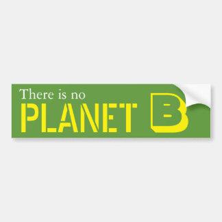 Il n'y a aucune planète B Autocollant Pour Voiture
