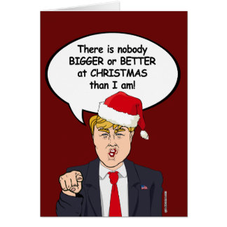 Il n'y a personne mieux à Noël que l'atout Carte De Vœux
