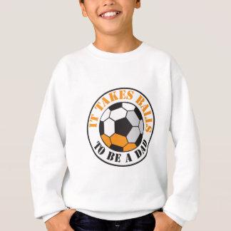Il prend des boules pour être un PAPA (le ballon T-shirts
