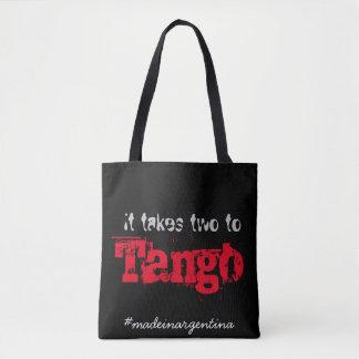 Il prend deux au tango sac