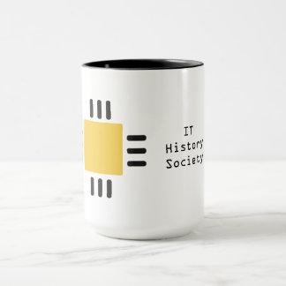 IL tasse de café de société d'histoire (logo