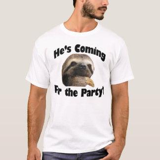 Il vient pour la partie ? t-shirt