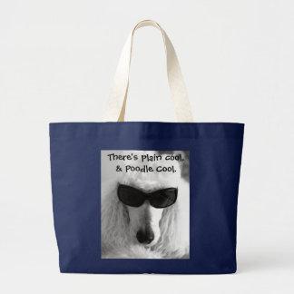 Il y a cool simple, et caniche frais grand sac