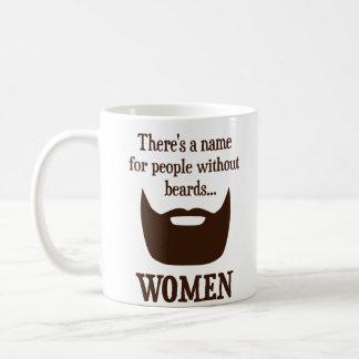 Il y a un nom pour des personnes sans barbes… mug