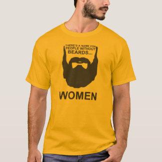 Il y a un nom pour des personnes sans barbes… t-shirt