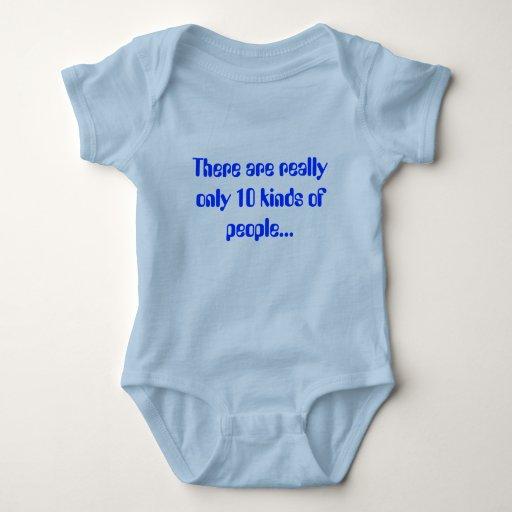 Il y a vraiment seulement 10 genres de personnes… t-shirt