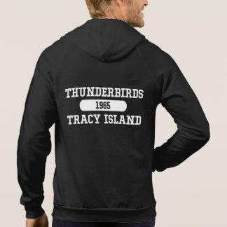 Île 1965 de Gerry Anderson Tracy de Thunderbirds Veste À Capuche