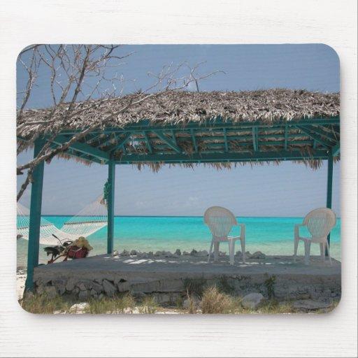 Île Bahamas de chat Tapis De Souris
