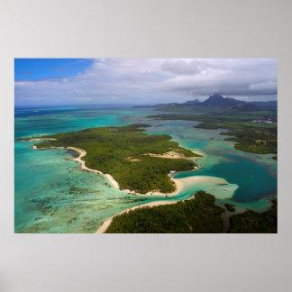 Ile Cerfs aux., Îles Maurice Affiches