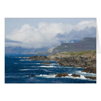 Île d'Achill, comté carte de Mayo, Irlande