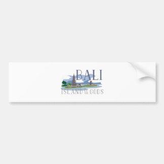 Île de Bali des dieux Autocollant De Voiture