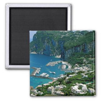Île de Capri, Italie Magnet Carré