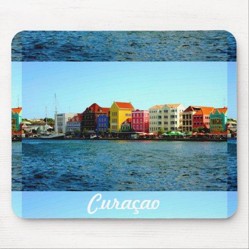 Île de conception du Curaçao d'Admiro Tapis De Souris