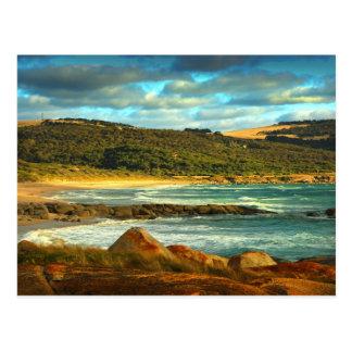 Île de Flinders de la plage | d'Emita, Tasmanie Carte Postale