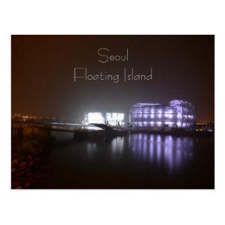 Île de flottement carte postale