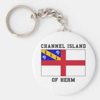 Île de la Manche de Herm Porte-clés