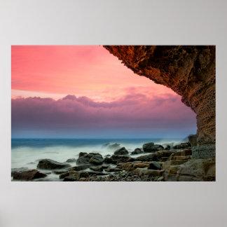 Île de littoral de Skye Poster