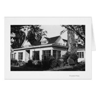Île de Lummi, WA - loge Photograp de Loganita de Cartes