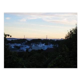 Île de Mackinaw, MI Carte Postale