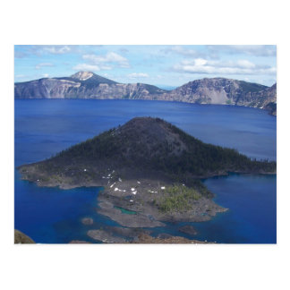 Île de magicien carte postale