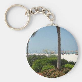 """""""Île de Marco, FL """" Porte-clés"""