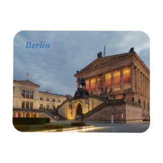 Île de musée à Berlin Magnet Flexible