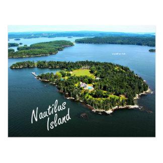 """Île de Nautilus : """"Je moi-même…"""" Carte postale de"""