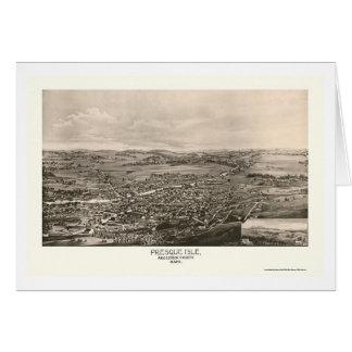 Île de Presque, JE carte panoramique - 1894