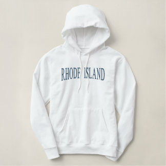 Île de Rhode a brodé le sweatshirt