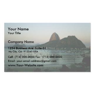 Île de Rio de Janeiro Carte De Visite Standard