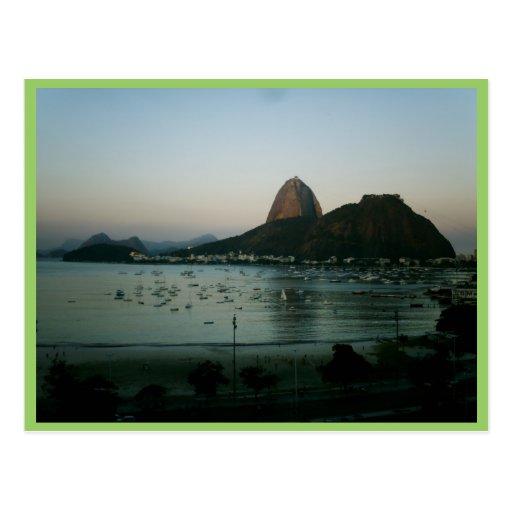 Île de Rio de Janeiro Carte Postale